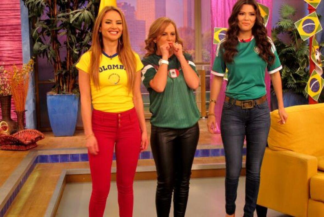 En Despierta América a las chicas también les encanta el fútbol.