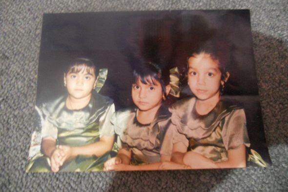 Una foto del álbum familiar de María Elena Anaya.