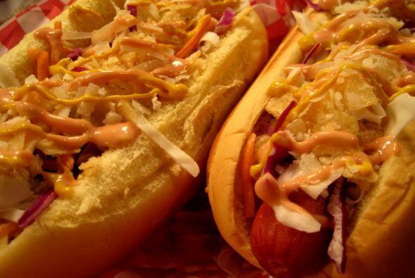 PERRO CALIENTE COLOMBIANOLos 'hot dogs' al estilo colombiano son un manj...