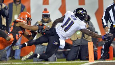 Ravens 33-27 Browns: Baltimore vuela un poco más y entierra a Cleveland...