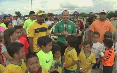 Brasil Jr. campeón de U6/Copa Univision Dallas
