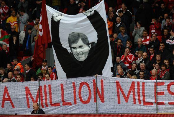 Pero la afición de los 'Reds' mostró su cariño al t...
