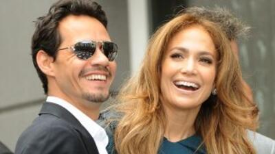 Una fuente desmintió un posible regreso entre Jennifer Lopez y Marc Anth...