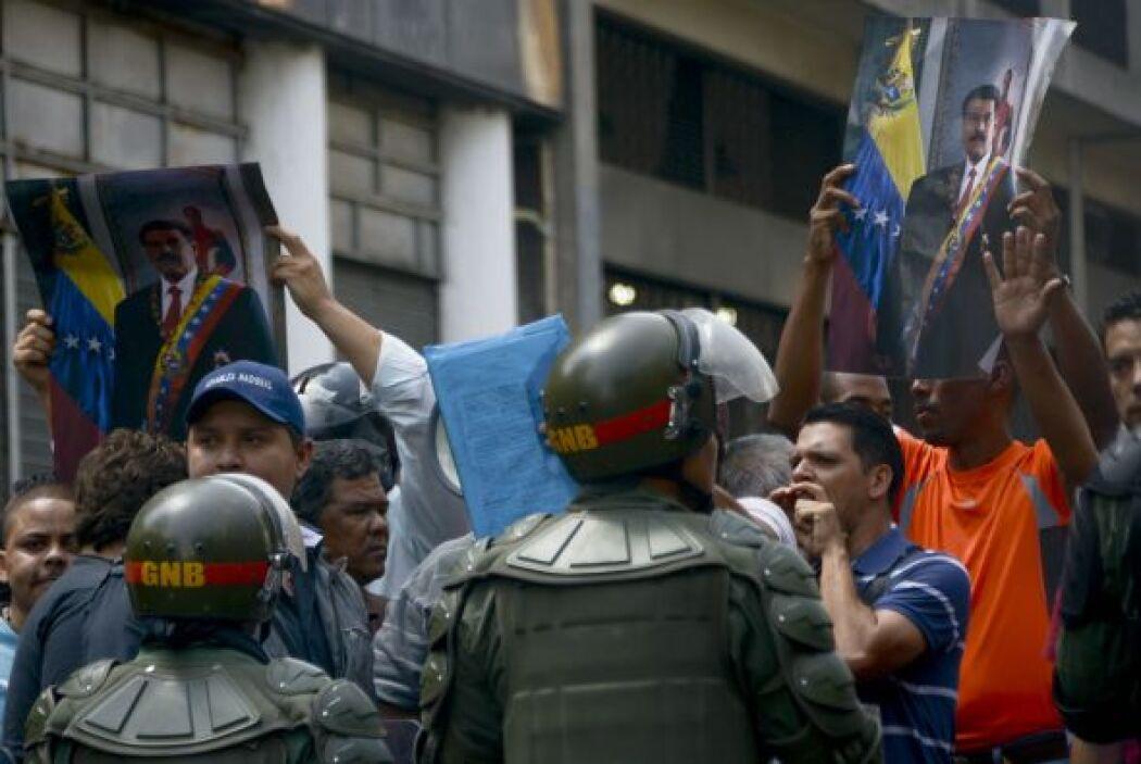 El gobierno de Venezuela, presidido por Nicolás Maduro, señala que las m...