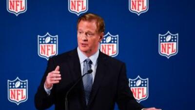 Roger Goodell, comisionado de la NFL.