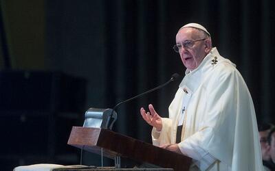 Papa Francisco oficia una misa por los cristianos muertos a manos de ext...