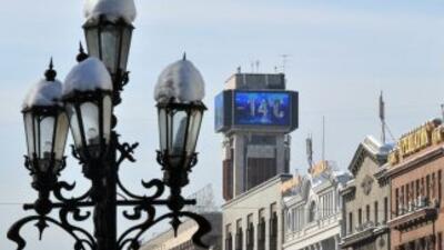 La ola de frío siberiano que atenaza Europa Central y los Balcanes desde...