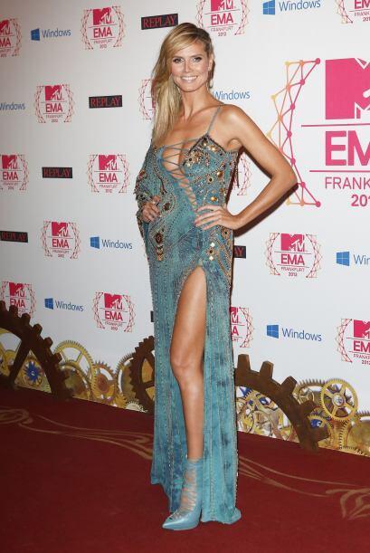 Las deliciosas curvas de Heidi Klum no son aptas para celosos, sobre tod...