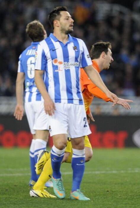 Fue el décimo partido consecutivo de Messi marcando para igualar un réco...