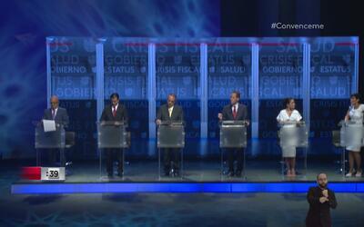 Los candidatos a la Gobernación reaccionan ante el tema de corrupón