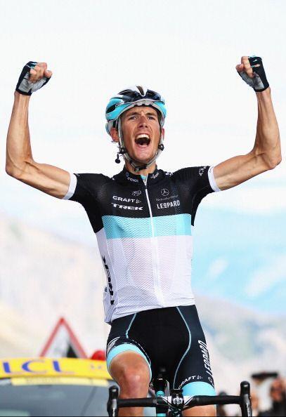 En el 2010 Andy Schleck fue segundo en la general detrás de Alberto Cont...