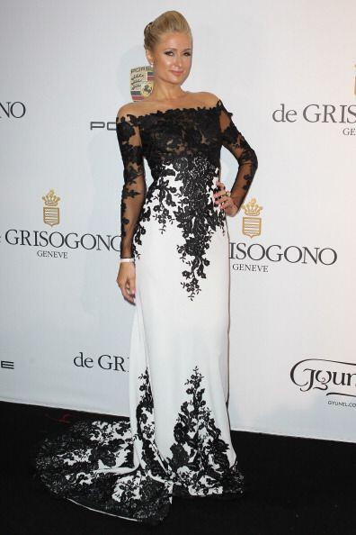 Paris Hilton, además de disfrutar de la vida loca, también ama la moda....