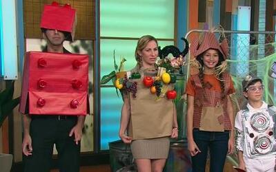 ¡Haz tus propios disfraces de Halloween con materiales reciclables!