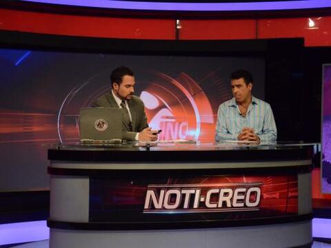 En el Noti-Creo Carlos y Gabriel felicitaron a todas las mujeres por El...
