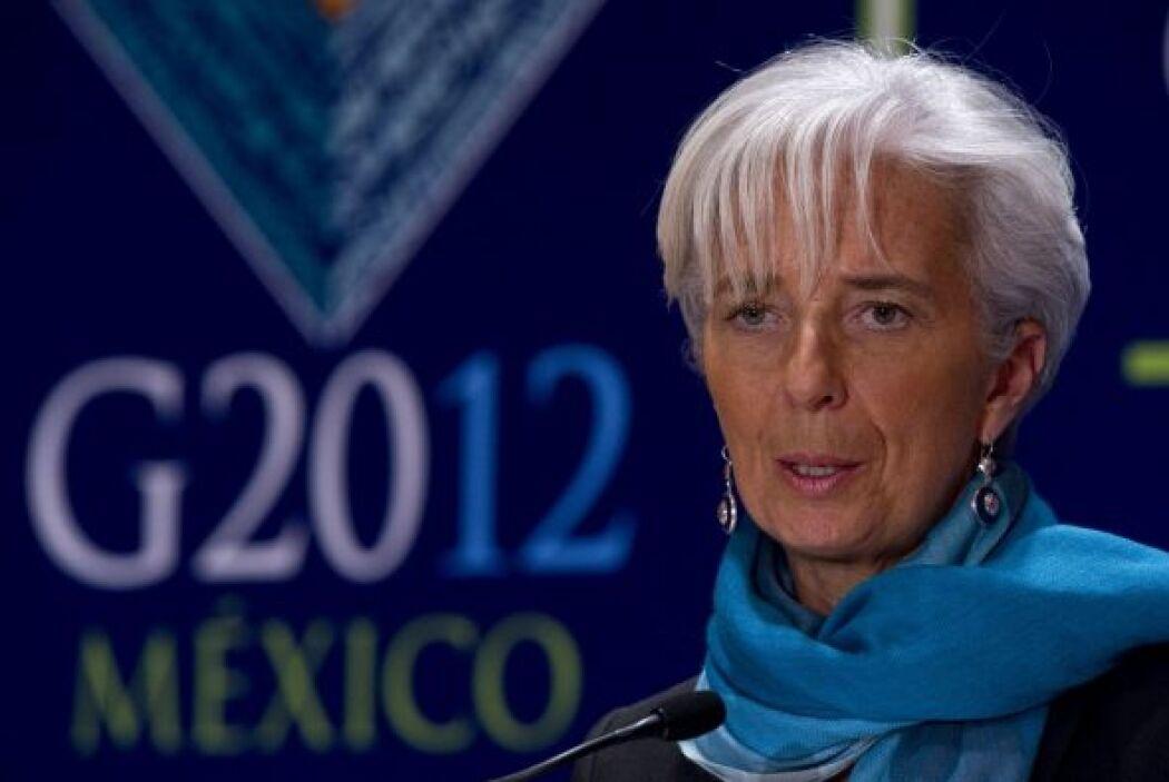 5.- CHRISTINE LEGARDE: Es la directora del Fondo Monetario Internacional...