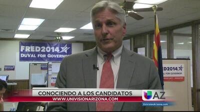 Perfil del candidato demócrata a gobernador Fred Duval