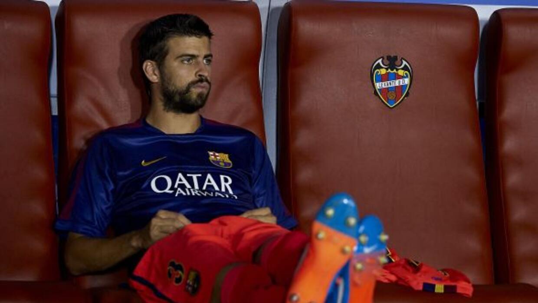 El defensa del Barcelona lleva dos partidos consecutivos fuera de la ali...