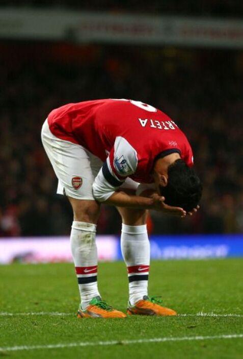 Lamento de Arteta y el Arsenal dejó escapar dos puntos de casa.