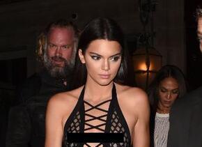 Kendall Jenner en París