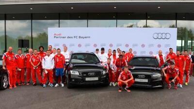 Audi ha sido patrocinador del equipo de Munich desdehace más de 10 años.