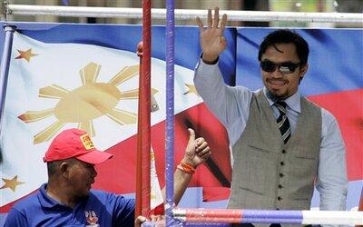 Pacquiao quiere ayudar a su país,