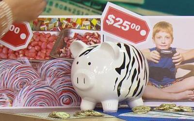Enseñándoles a los hijos el valor del dinero