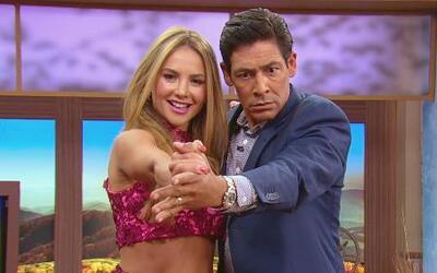 Así bailan tango Ximena y Johnny