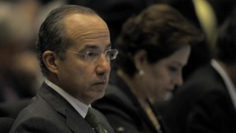 Felipe Calderón aseguró que los sobiernos anteriores no habrían hecho lo...