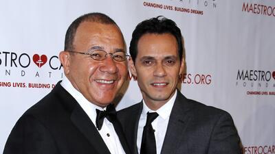 Marc Anthony y Henry Cárdenas
