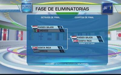 Caliente la fase de eliminatorias en el Mundial