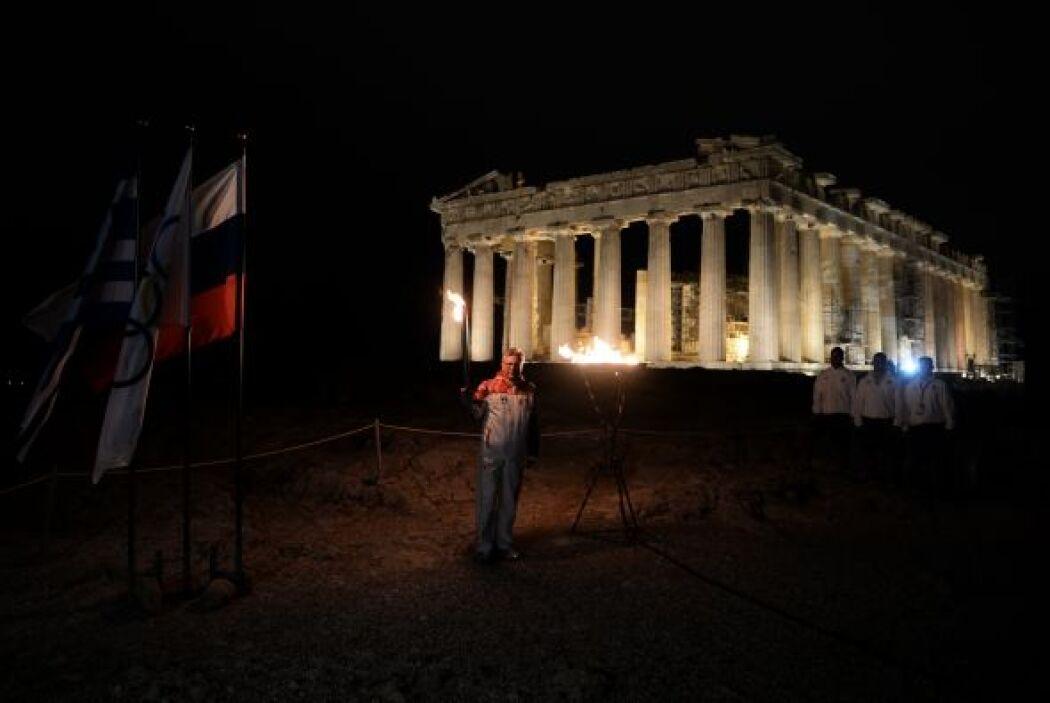 El Partenón en Atenas