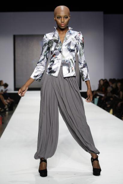 La diseñador Lisu Vega brilló muy bien con su colección, la cual ofreció...