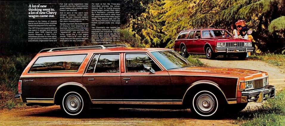 Aunque no lo creas la Chevrolet Caprice Classic Wagon 1977 era considera...