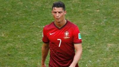El delantero portugués no quiso dar declaraciones a los medios al afirma...