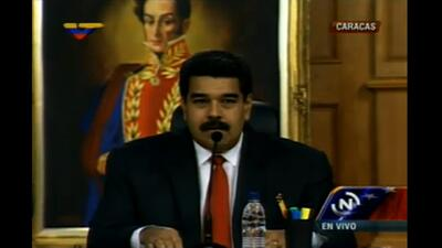 Así inicio la reunión del presidente Maduro y la oposición