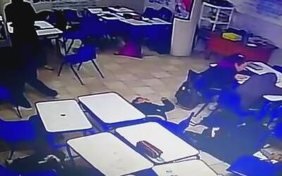 Se registra tiroteo dentro de Colegio Americano del Noreste en Monterrey...