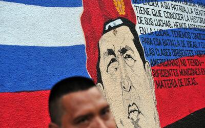 Chávez hizo una donación millonaria para que un barrio de...