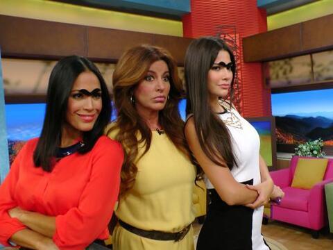 Karla Martínez y Ana Patricia acompañaron a Paola Gutiérrez en este segm...