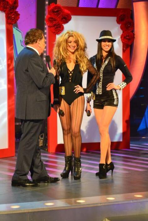 Gloria Trevi y Olga Tañón fueron las ganadoras del concurso.