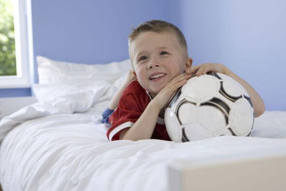 Si tu niño ama un deporte apasionadamente, decorar su dormitorio siguien...