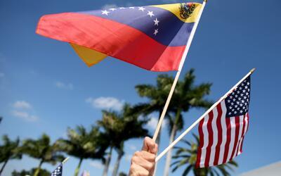 Miembros del exilio venezolano en Miami enviaron un mensaje a la comunid...
