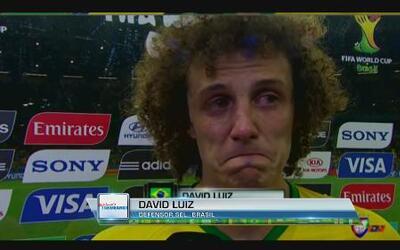 David Luiz suplicó por el perdón de la afición