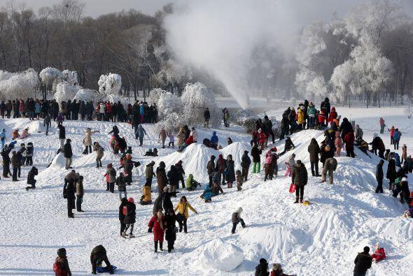 El Festival de Esculturas de Nieve y Hielo de Harbin es uno de los cuatr...
