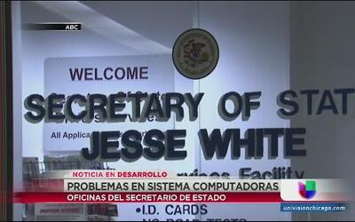 Colapsan computadores en oficina del secretario del estado