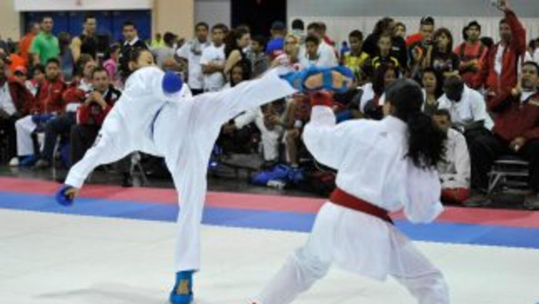 El karate tuvo una nutrida participación