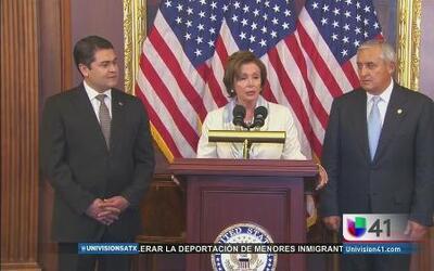 Llegan mandatarios latinos para discutir crisis migratoria