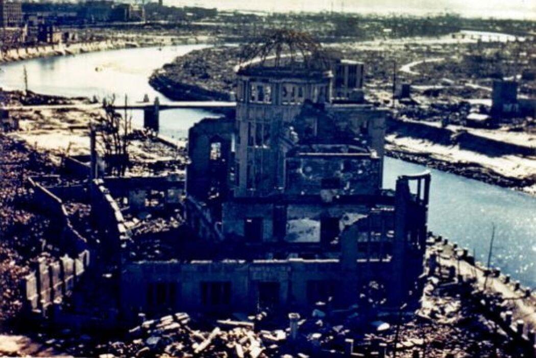 Que lucía así en 1945, después del bombardeo.