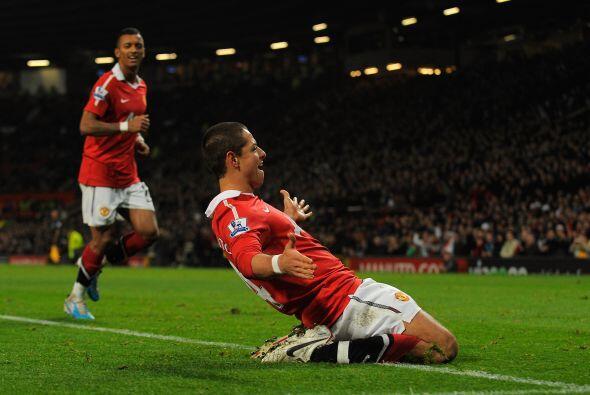 El United ya ganaba por 1-0, pero Hernández quería ampliar la diferencia...