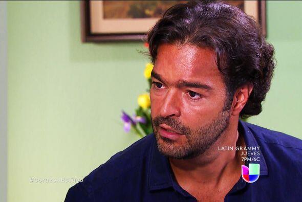 No te sientas culpable Diego, tu papá fue a parar al hospital por un mal...
