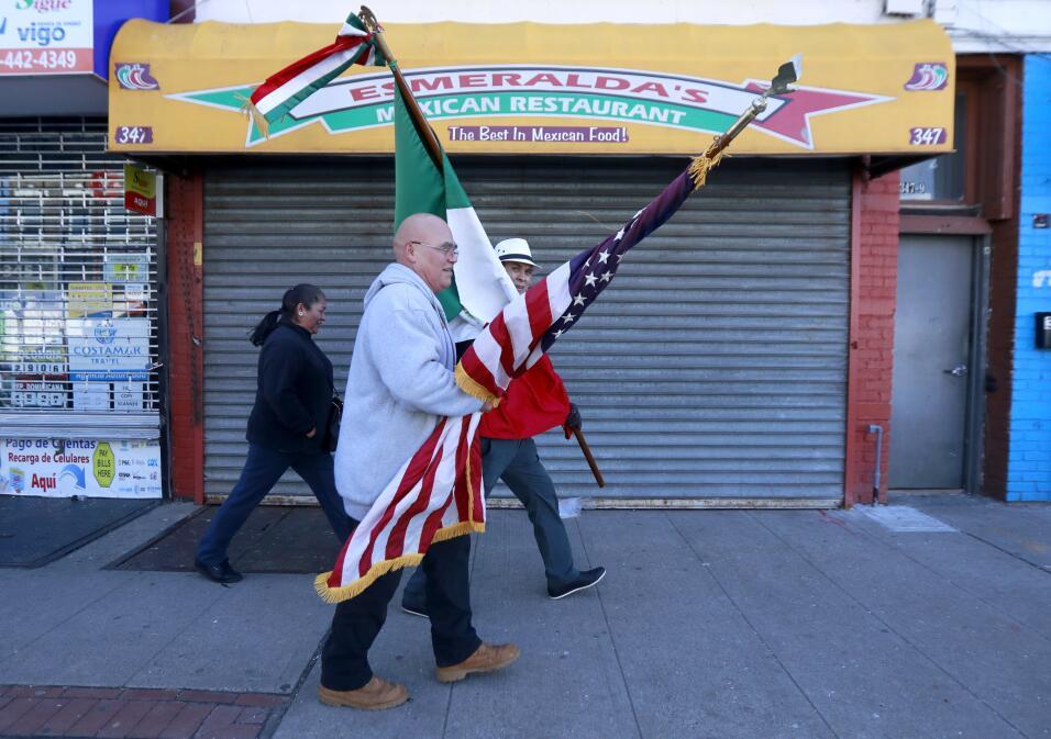 El día sin inmigrantes se hace notar en Los Ángeles AP_17047690570113.jpg